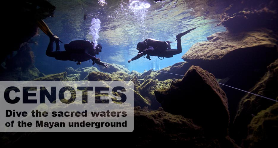 discover the Cenotes with deep deep down